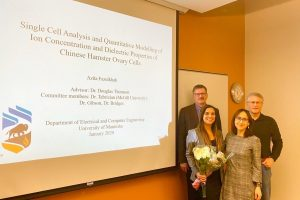 Azita's PhD defence